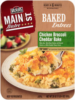 Reser's Fine Foods® Main St Bistro® Chicken Broccoli Cheddar Bake 20 oz Tray