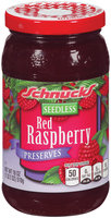 Schnucks® Seedless Red Raspberry Preserves 18 oz.