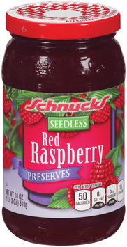 Schnucks® Seedless Red Raspberry Preserves 18 oz.