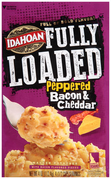 Idahoan® Fully Loaded™ Peppered Bacon & Cheddar Mashed Potatoes 4 oz. Pouch
