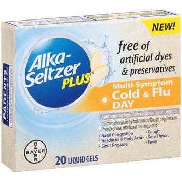 Alka-Seltzer Plus® Day Cold & Flu Multi-Symptom Relief Liquid Gels 20 ct Box