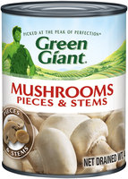 Green Giant® Mushroom Pieces & Stems 4 oz. Can
