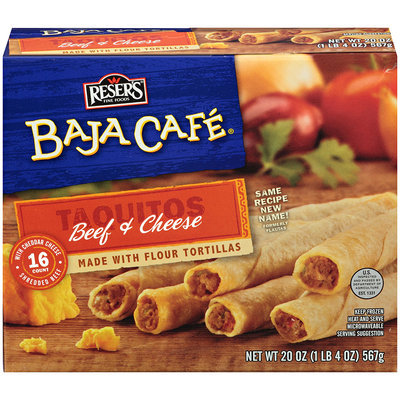 Baja Cafe® Beef and Cheese Taquitos 16 ct Box