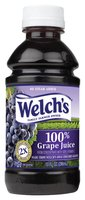 Welch's Single Serve Grape, Modified 9/10/08 100% Juice 10 Fl Oz Plastic Bottle