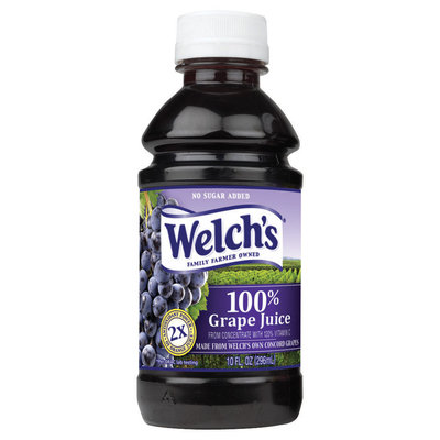 Welch's Single Serve Grape, Modified 9/10/08 100% Juice 10 Fl Oz Plastic Bottle