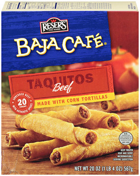 Baja Cafe® Beef Taquitos 20 ct Box