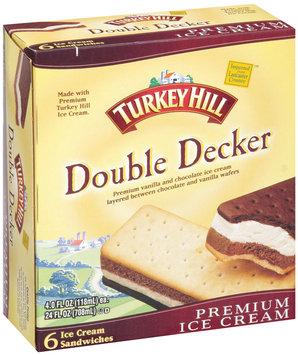 Turkey Hill® Double Decker Ice Cream Sandwiches 24 fl. oz. Box