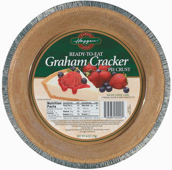 Haggen Graham Cracker Ready to Eat Pie Crust 6 Oz