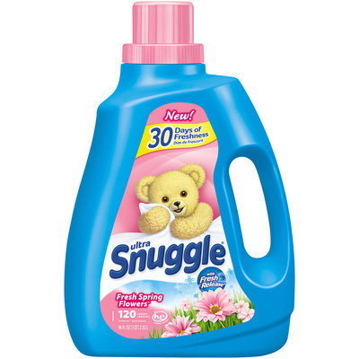 Ultra Snuggle® Fresh Spring Flowers™ Liquid Fabric Softener 96 fl. oz. Jug