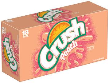 CRUSH Peach 12 Oz Soda 18 PK CANS