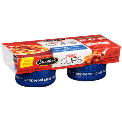 Stouffer's Mac Cups Pepperoni Pizza