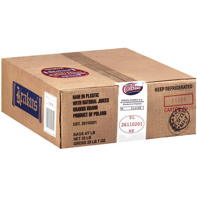 Krakus Polish Ham With Natural Juices 7 lb Package
