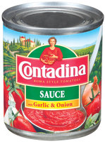 Contadina with Garlic & Onion Tomato Sauce 8 oz. Can