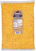 Pauly® Natural Mild Shredded Cheddar Cheese 5 lb.