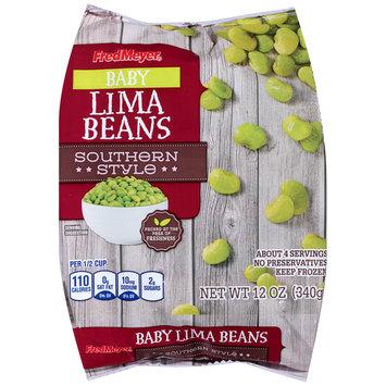 Fred Meyer® Baby Lima Beans 12 oz. Bag