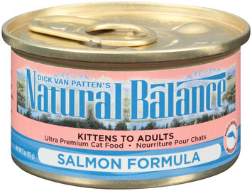 Dick Van Patten's Natural Balance® Salmon Formula Ultra Premium Wet Cat Food 3 oz. Can