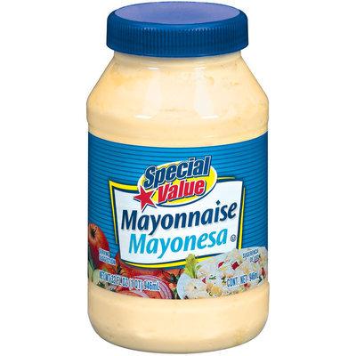 Special Value  Mayonnaise 32 Oz Plastic Jar