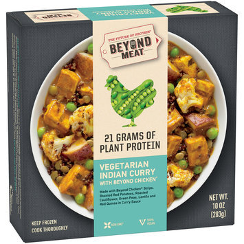Beyond Meat® Vegetarian Indian Curry with Beyond Chicken® 10 oz. Box
