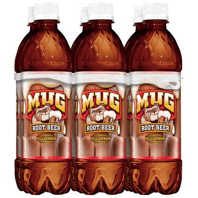 Mug® Root Beer Soda 6-16.9 fl. oz. Bottles