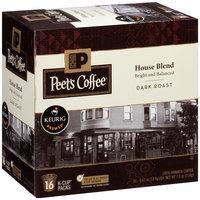 Peet's Coffee® House Blend Dark Roast Coffee 16-0.47 oz. Single Serve Cups
