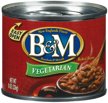 B&M Vegetarian Baked Beans 8 Oz Can