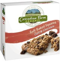 Cascadian Farm™ Organic Oats & Chocolate Soft Baked Squares 6 ct Box