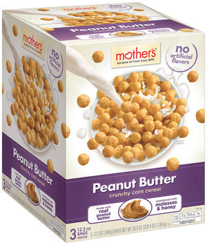 Mother's® Peanut Butter Cereal 3-12.3 oz. Bags