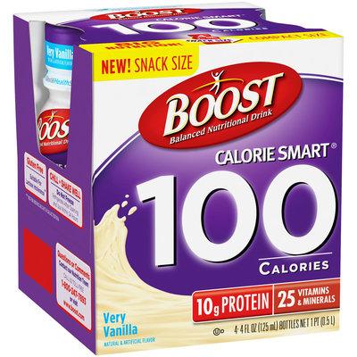 Boost® Calorie Smart® Very Vanilla Balanced Nutritional Drink 4-4 fl. oz. Bottles 1 pt. Box