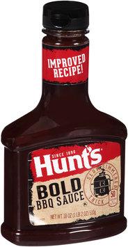 Hunt's® Bold BBQ Sauce 18 oz. Bottle
