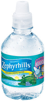 Zephyrhills Natural Spring Water with Added Fluoride