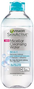 Garnier® SkinActive™ Micellar Cleansing Water for All Skin Types, Even Sensitive 13.5 fl. oz. Bottle
