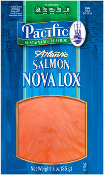 Pacific Sustainable Seafood™ Atlantic Salmon Nova Lox 3 oz. Pouch