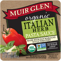 Muir Glen™ Organic Italian Herb Pasta Sauce Made with San Marzano Style Tomatoes 23 oz. Jar
