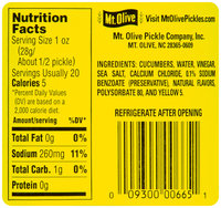 Mt. Olive Kosher Dills Fresh Pack 32 fl. oz. Jar