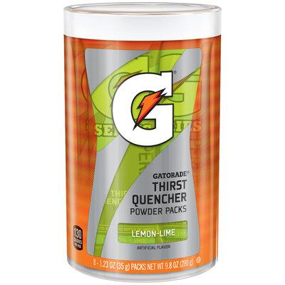 Gatorade® Lemon-Lime Thirst Quencher Powder Packs 9.8 oz. Canister