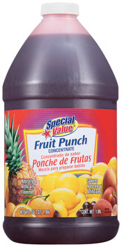 Special Value® Fruit Punch Concentrate 64 fl. oz. Bottle