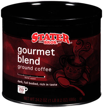Stater Bros.® Gourmet Blend Ground Coffee 24.2 oz. Canister