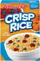 Schnucks Crisp Rice Cereal 15 Oz Box