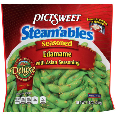 Pictsweet® Steam'ables® Seasoned Edamme with Asian Seasoning 10 oz. Package