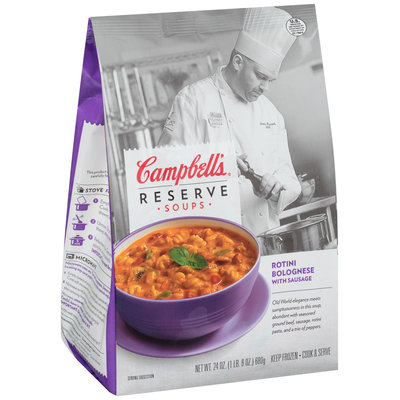 Campbell's® Reserve Soups Rotini Bolognese with Sausage