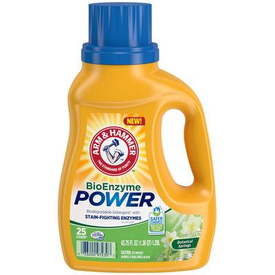 Arm & Hammer™ Botanical Springs BioEnzyme Power Laundry Detergent 25 Loads 43.75 fl. oz. Jug