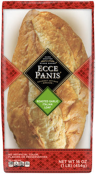 Ecce Panis® Roasted Garlic Italian Loaf Bread 16 oz. Pack