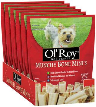 Ol' Roy® Munchy Bone Mini's Dog Treats 6.2 oz. Bag