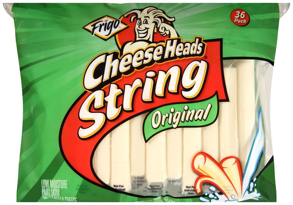 Frigo® Cheese Heads® Original String Cheese 36 ct Bag