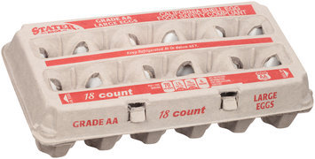 Stater Bros.® Grade AA Large Eggs 18 ct Carton