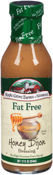 Maple Grove Farms® Fat Free Honey Mustard Dijon Dressing 12 fl. oz. Bottle
