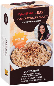 Rachel Ray™ Oat-tastically Good™ Instant Hot Cereal Cinnamon 8 ct. 11.29 oz. Box