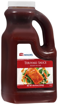 Minor's® Teriyaki Sauce 4.6 lb. Jug
