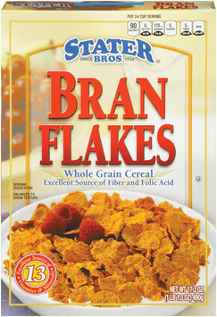 Stater Bros.® Bran Flakes Whole Grain Cereal 17.3 oz.