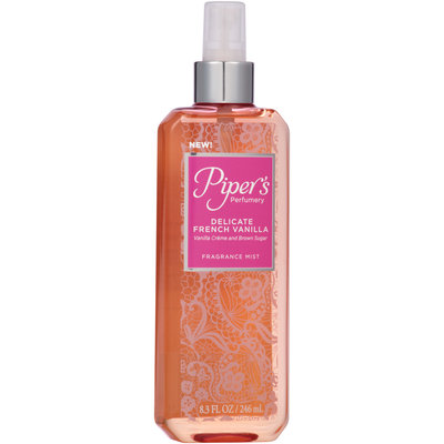 Piper's Perfumery Delicate French Vanilla Fragrance Mist 8.3 fl. oz. Spray Bottle